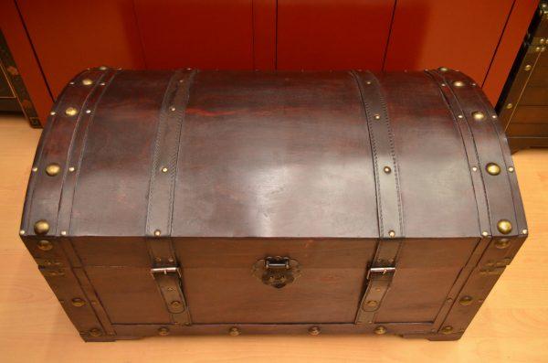 Malle ou coffre trésor de 72 cm.