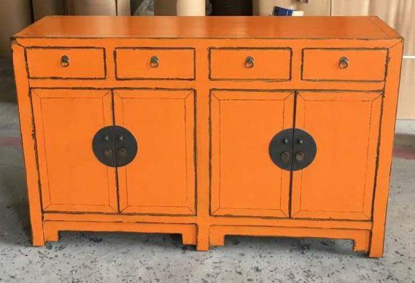 buffet massif chinois orange