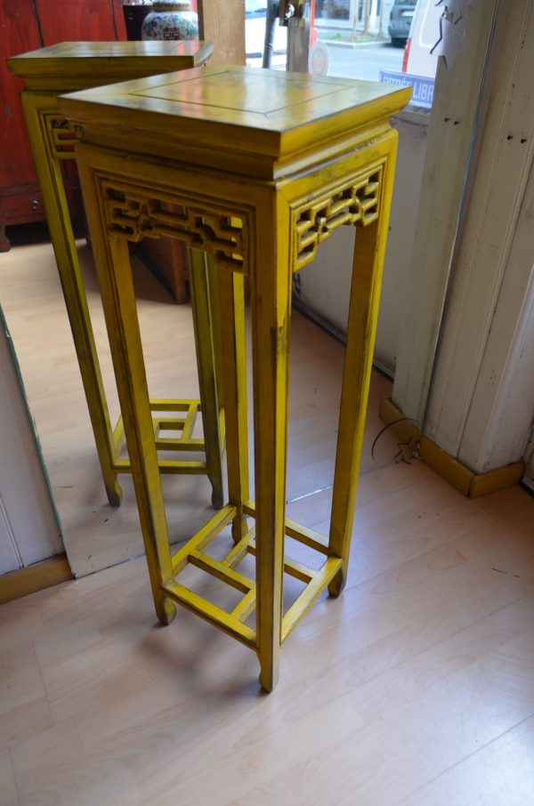 sellette asiatique jaune h 100 cm