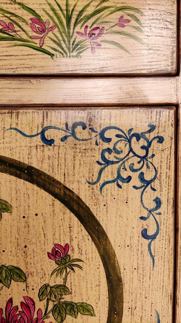 décoration du meuble chinois.